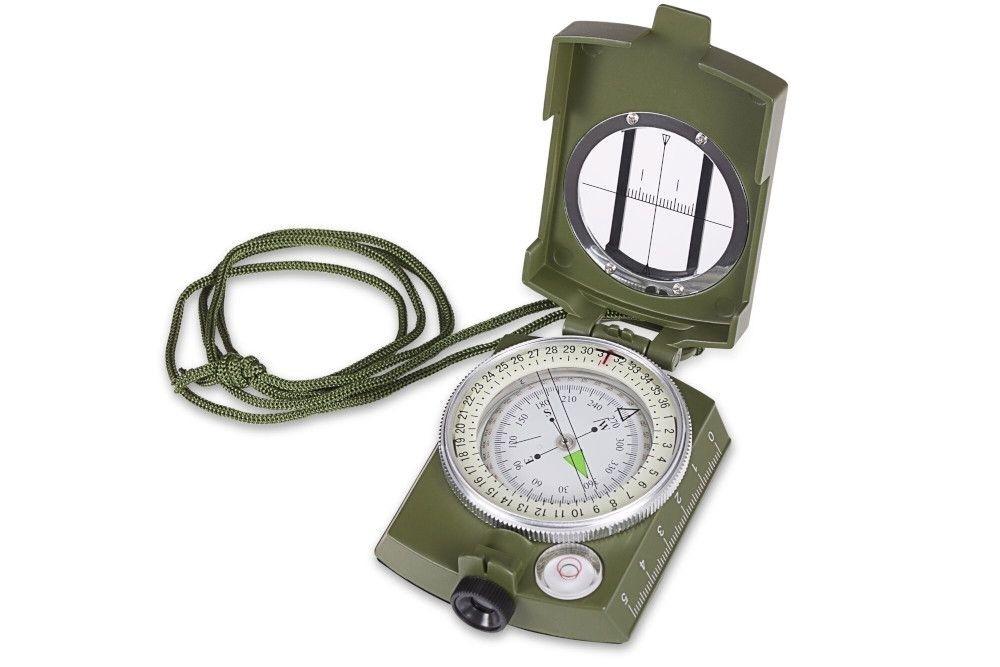 Kompas Praktica zielony