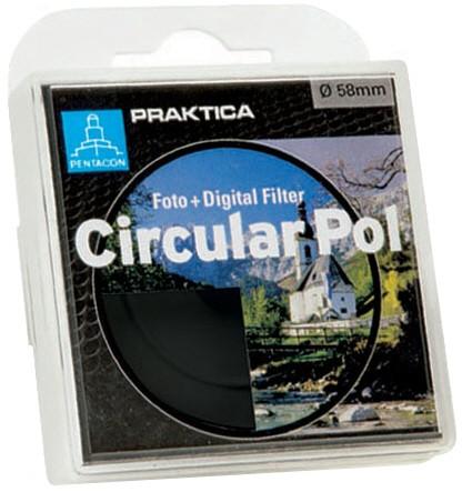 Filtr PRAKTICA C-Pol 49mm